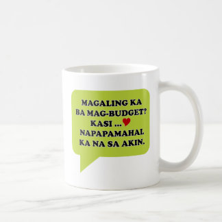 Magaling Ka ba Magbudget Classic White Coffee Mug