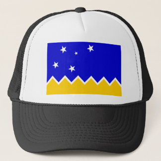 Magallanes, Chile, Antarctica flag Trucker Hat