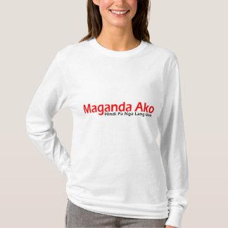 Maganda Ako-Hindi Pa Nga Lang Uso T-Shirt