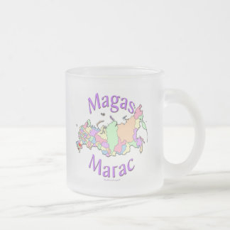 Magas Russia Frosted Glass Mug
