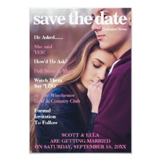 MAGAZINE COVER | SAVE THE DATE