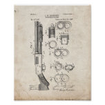 Magazine-firearm Patent - Old Look Poster