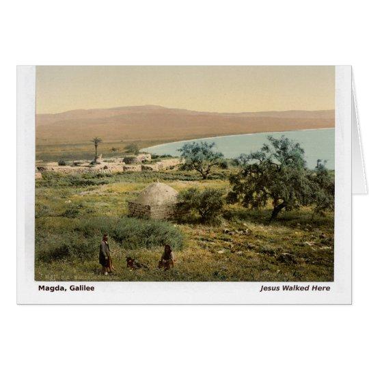 Magda, Galilee Card