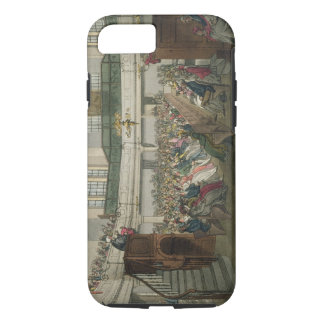 Magdalen Chapel, from 'Ackermann's Microcosm of Lo iPhone 7 Case