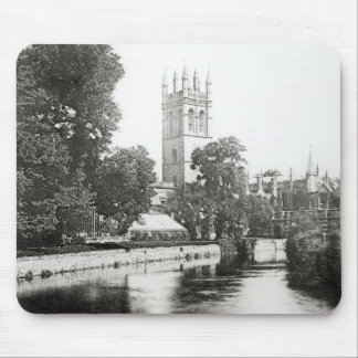 Magdalen College from the Cherwell Mouse Mat