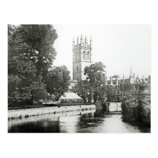 Magdalen College from the Cherwell Postcard