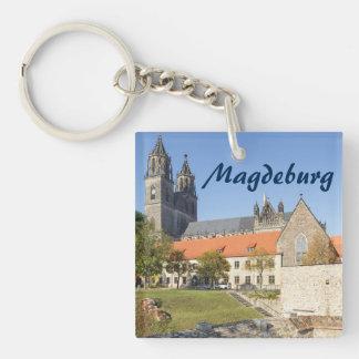 Magdeburg Cathedral photo Key Ring