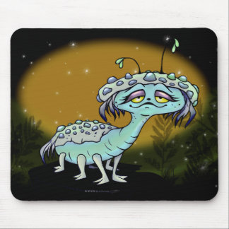 MAGE MONSTER ALIEN CUTE MOUSE PAD