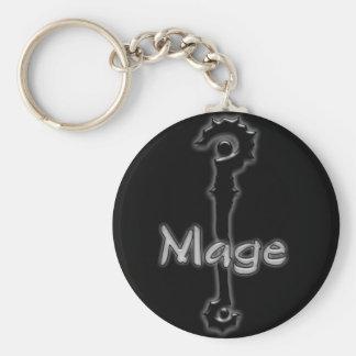 mage stave keychain