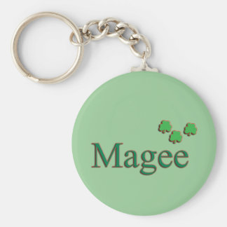 Magee Family Key Chain
