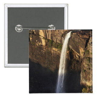 Magela Falls, Kakadu National Park 15 Cm Square Badge