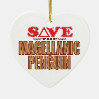 Magellanic Penguin Save Christmas Ornament