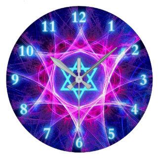 Magen Bet Fractal Large Clock