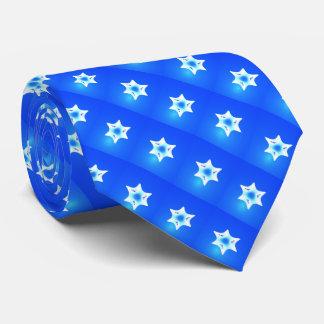 Magen Lavan (White Star) Tie