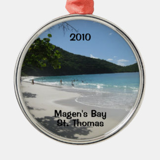 Magen's Bay, St. Thomas, 2010 Christmas Ornament