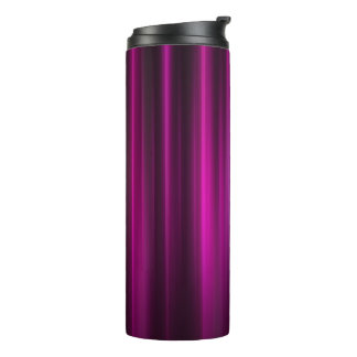 Magenta and black lines on thermal tumbler