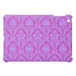 Magenta & Blue Damask Cover For The iPad Mini