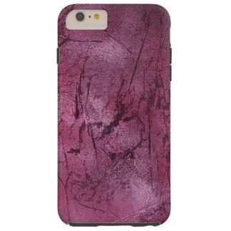 magenta crackle phone cover