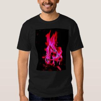 Magenta Fire Tshirts