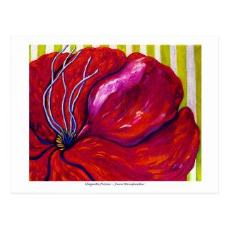 Magenta Flower POST CARD