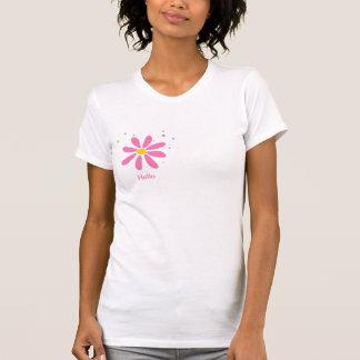 Magenta flower t-shirt