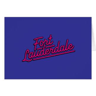 magenta Fort Lauderdale Cards