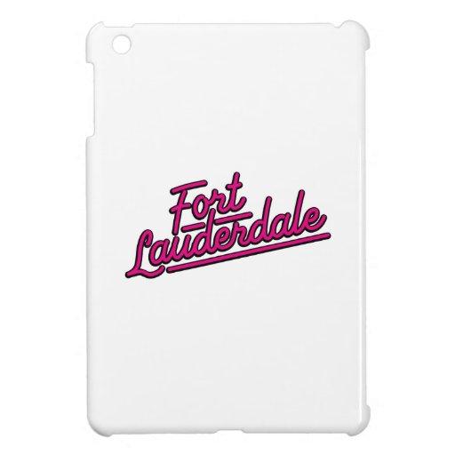 magenta Fort Lauderdale iPad Mini Covers