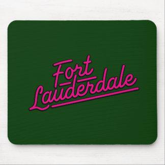 magenta Fort Lauderdale Mousepad