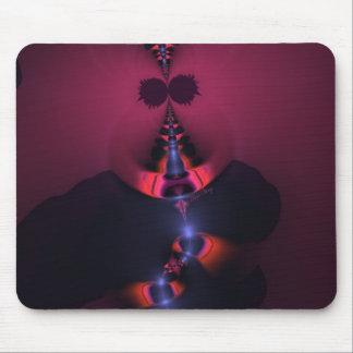 Magenta Ghost – Rose & Indigo Delight Mouse Pad