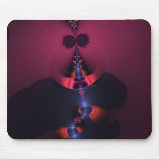 Magenta Ghost – Rose Indigo Delight Mouse Pads