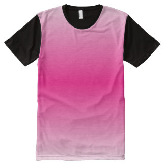 Magenta Graedient™ All-Over Print T-Shirt