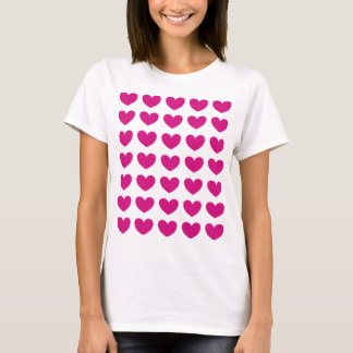 Magenta Heart T-Shirt