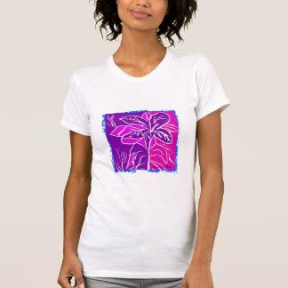 Magenta Hibiscus Shirt