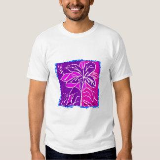 Magenta Hibiscus Shirts