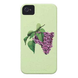 Magenta Lilacs iPhone 4 Cover