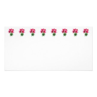 Magenta Lilies Photo Greeting Card