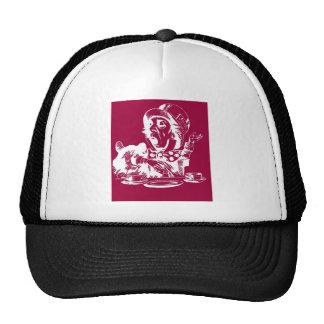 Magenta Mad Hatter Trucker Hats