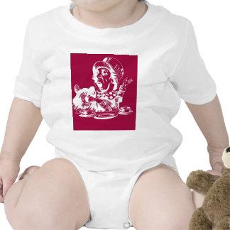 Magenta Mad Hatter Baby Bodysuits
