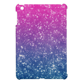 Magenta Ombre Glitter iPad Mini Cover