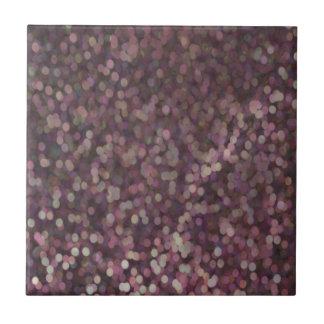 Magenta Painted Glitter Shimmer Tiles