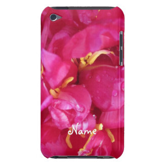 Magenta Peony Petals iPod Touch 4g Case iPod Touch Covers