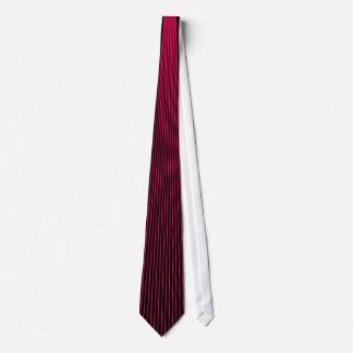 Magenta Pinstripe Tie