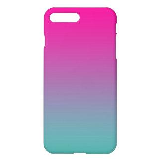 Magenta Purple & Teal Ombre iPhone 7 Plus Case