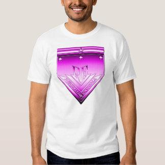 Magenta Renegade Enigma Crest Tee Shirts