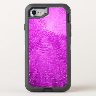 Magenta Ripples OtterBox Defender iPhone 8/7 Case