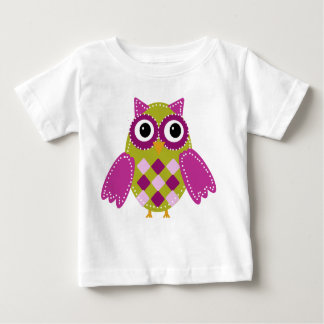 Magenta the Adorable Owl Baby T-Shirt