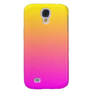 Magenta Yellow Gradient Galaxy S4 Case