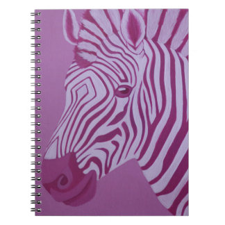 Magenta Zebra Notebook