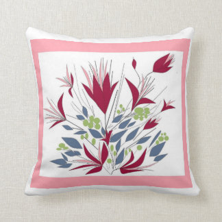 MagentaFlowers Cushion