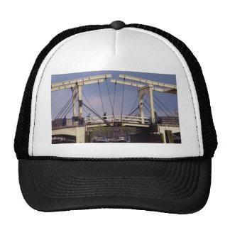 """Magere Brug, """"Skinny Bridge"""", Amstel River, Amster Hats"""
